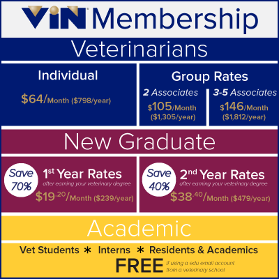 VIN Membership Pricing