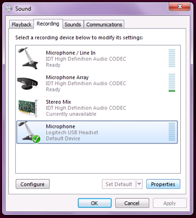 Webinar - Setup Microphone Headset - Instructor Resource Center - VIN