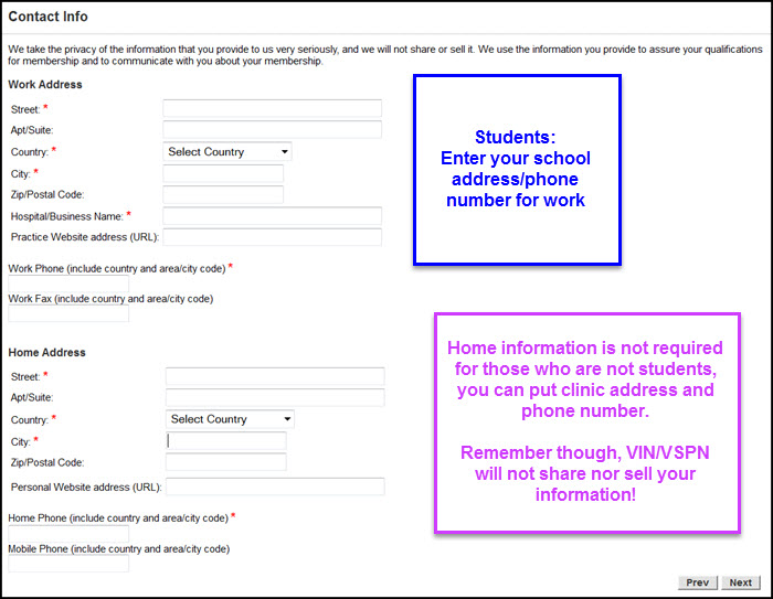 How to Complete a VSPN Application - VIN
